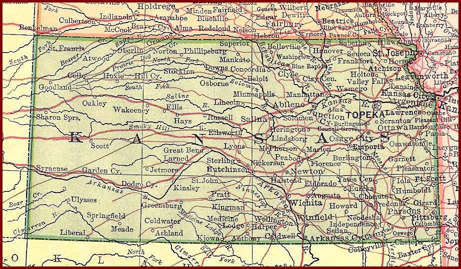 B F Mudge - Ks map