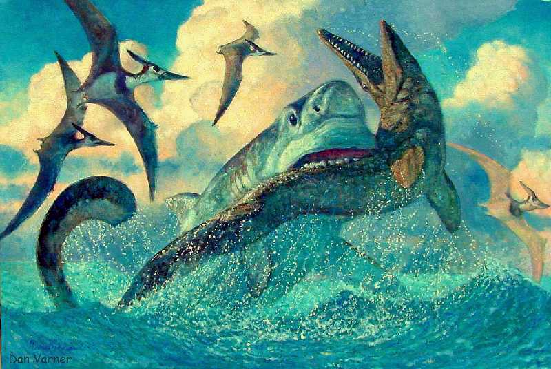 Mosasaurs: Last of the Great Marine Reptiles